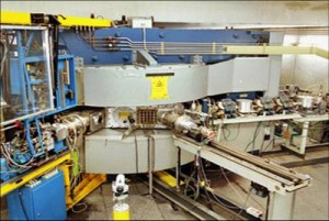 Cyclotron (Particle Accelerator) - an essential, but expensive and potentially hazardous piece of scientific equipment, well-suited to a remote lab