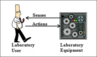 Model of Traditional Laboratory Interaction